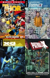Cómics Valiant y el Thor de Walter Simonson