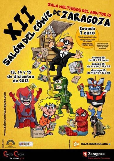 Cartrel Salón del cómic de Zaragoza 2013