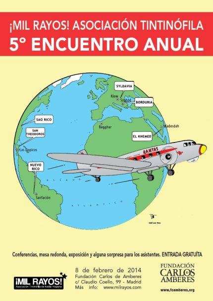 Cartel Encuentro Tintinófilo 2014