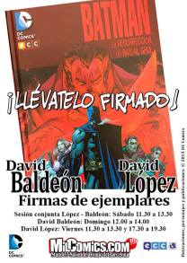 cartel baldeon - lopez