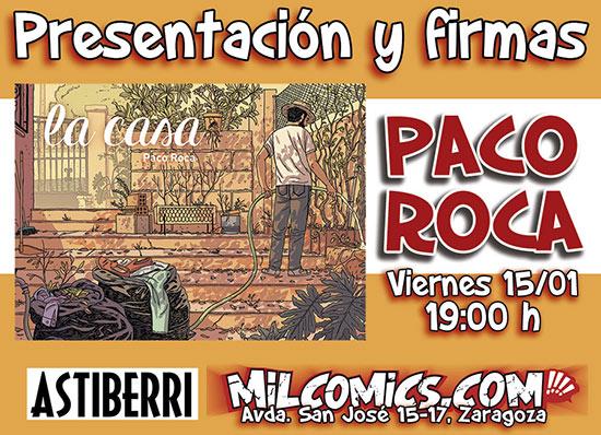 Presentación de La Casa, de Paco Roca