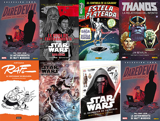 Pulsa en la imagen para ver los cómics y libros de la semana