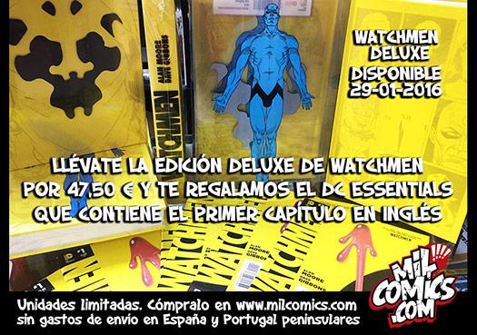 Watchmen deluxe con regalo. Unidades limitadas