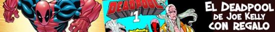 Comic USA de Deadpool de regalo con el tomo