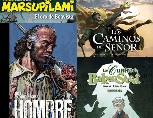 los comics y libros de la semana