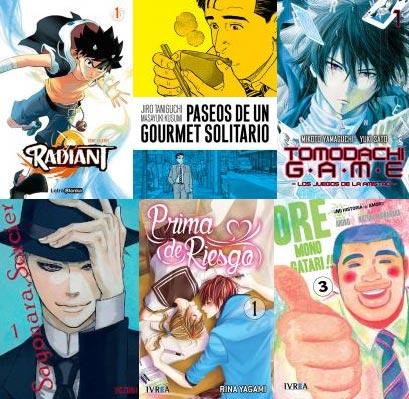Comics de la semana - imagen manga