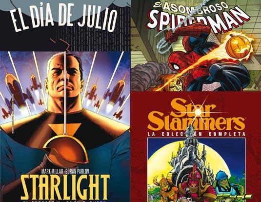 Comics y libros de la semana