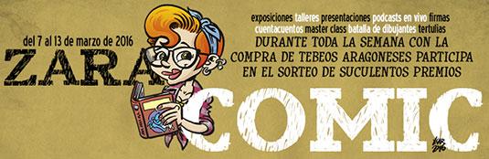 Zaracomic. La semana del comic aragonés