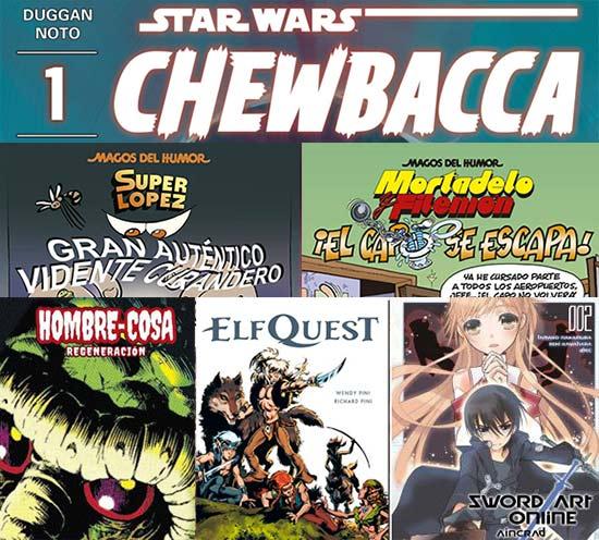 Los Comics de la semana