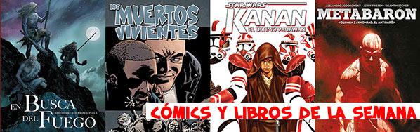 Comics de la semana
