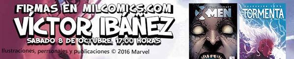 Firmas de Víctor Ibáñez en Milcomics.com