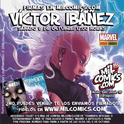 firmas Víctor Ibáñez