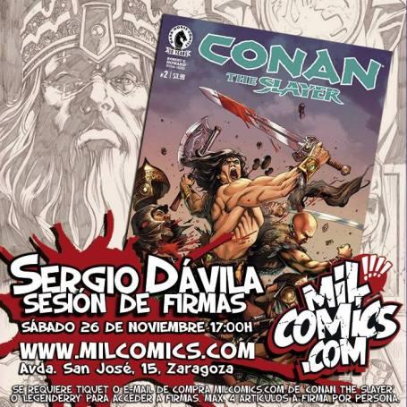 Conan firmado por Sergio Dávila
