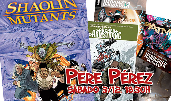 Reserva tus comics firmados