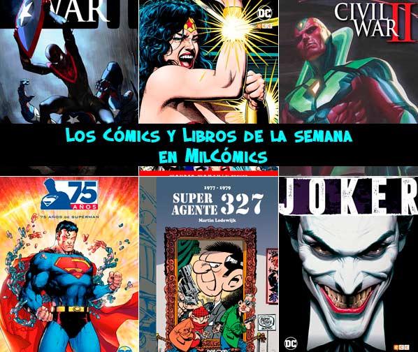 Los cómics y libros de la semana en Mil Cómics