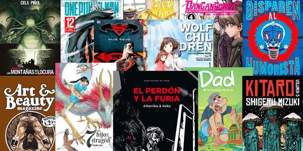 Ver comics y libros de la semana