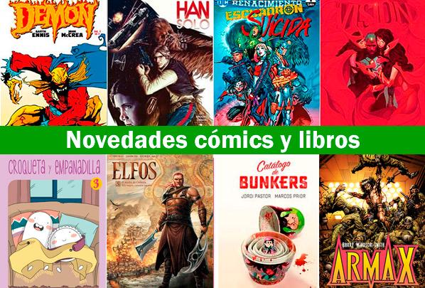 Comics y libros de la semana en MilComics