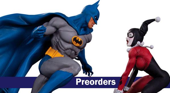 Preorders figuras, juegos y merchan