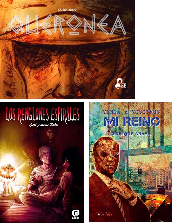 Sábado Laura Rubio, Enrique Anaya y José A Rubio