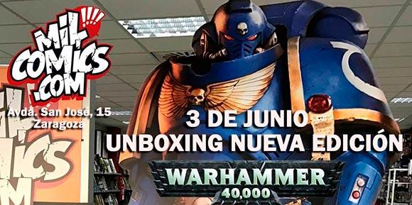 Unboxing nueva edición Warhammer 40000