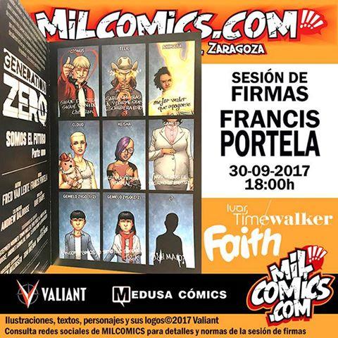 Firmas Francis Portela Valiant