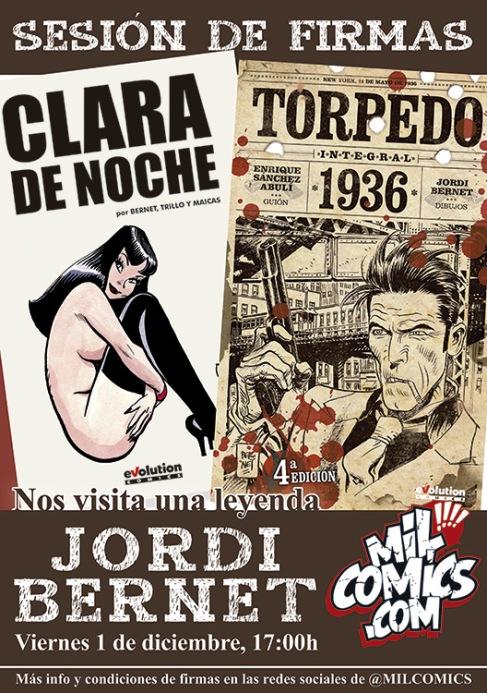 Firmas Jordi Bernet