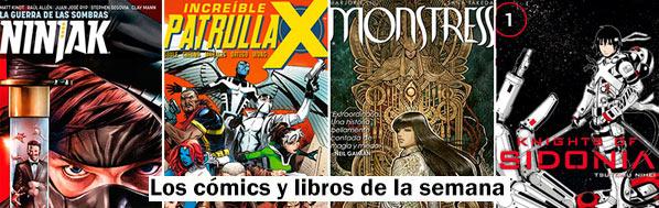 Los cómics y libros de la semana. Monstress