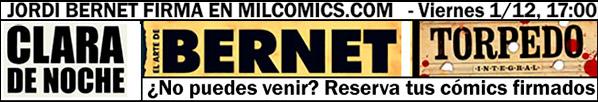 Firmas de Jordi Bernet en MilCómics