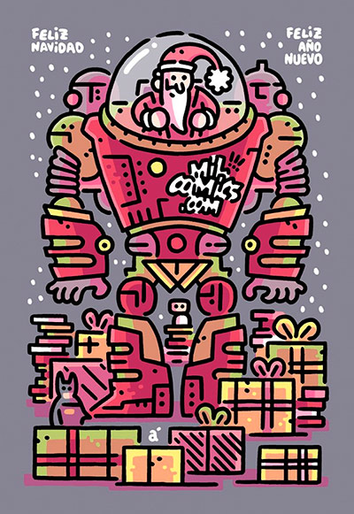 Feliz Navidad te desea MilCómics