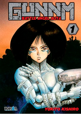 Comprar GUNNM Battle Angel Alita Ivrea