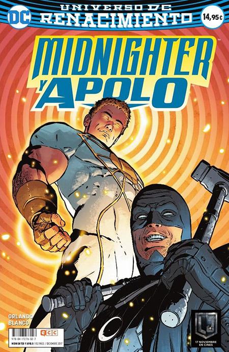 comprar Midnighter y Apolo firmado por Fernando Blanco
