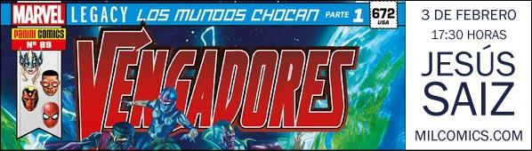Jesus Saiz firma Vengadores Avengers en MilCómics