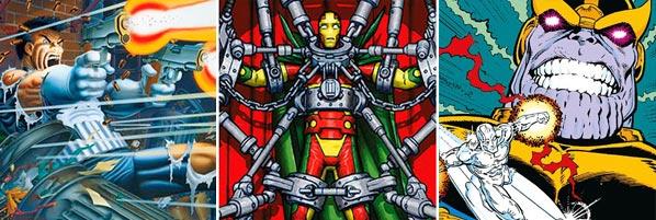 El resurgir de Thanos, Zorglub, Mr. Miracle, El Castigador