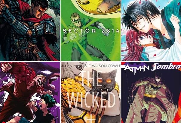 Ver novedades cómics y libros de la semana