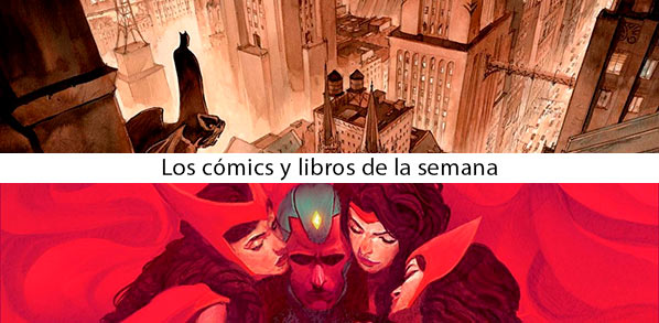 Comprar La Visión Integral Panini Marvel, Batman El Príncipe oscuro de Marini, ECC DC Comics