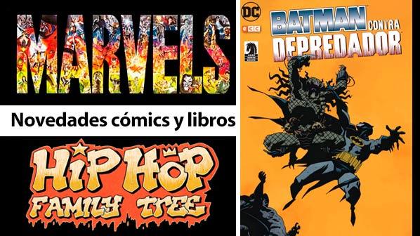 Comics de la semana  batman contra Depredador, Marvels