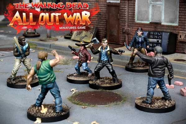 Novedades Juego Miniaturas Walking Dead