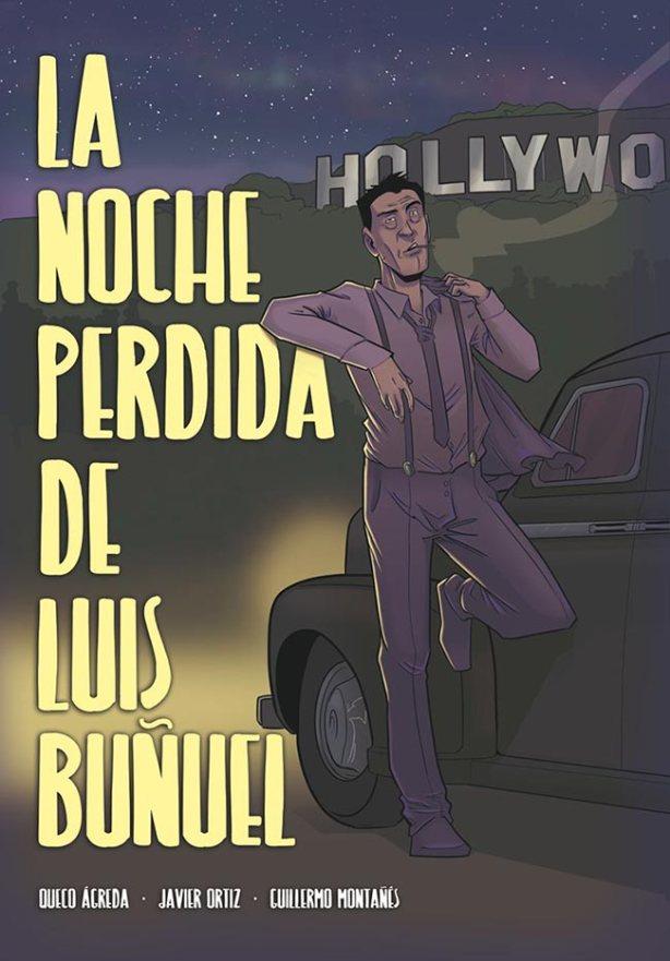 Clic en la imagen para acceder a la venta de 'La noche perdida de Luis Buñuel' en MilCómics.com