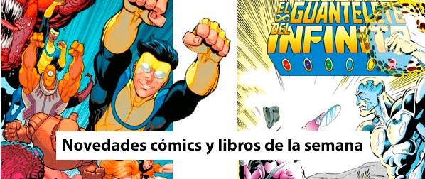 Novedades de la semana cómics y libros