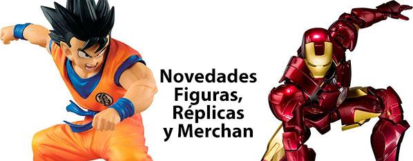 Novedades figuras, replicas y merchandising