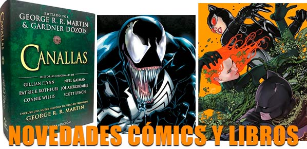 Cómics y libros de la semana