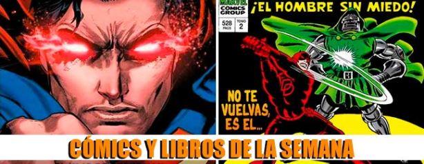 novedades cómics y libros de la semana