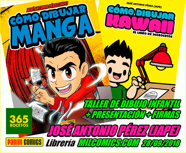 Jape 365 bocetos en Milcomics
