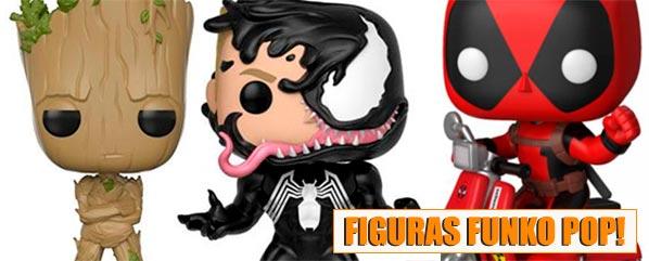 Comprar Figuras Funko Venom, Groot, Deadpool