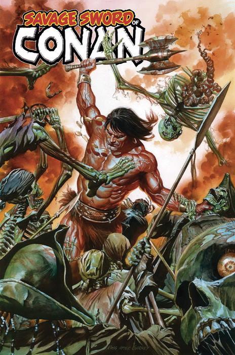 novedades Panini Cómics mayo 2019, La espada salvaje de Conan