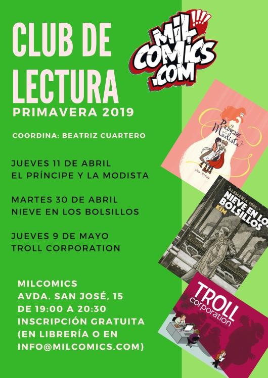 Club de lectura, cómic, Zaragoza, MilCómics