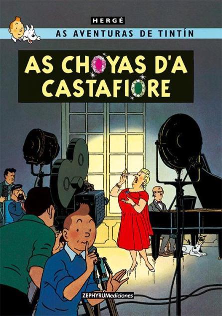 Tintin en aragonés, as choyas d'a castafiore