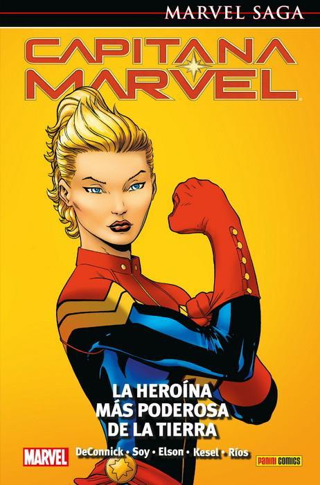 novedades panini cómics julio 2019, Capitana Marvel Marvel Saga
