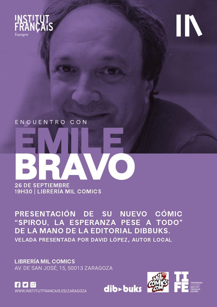 Encuentro con Émile Bravo