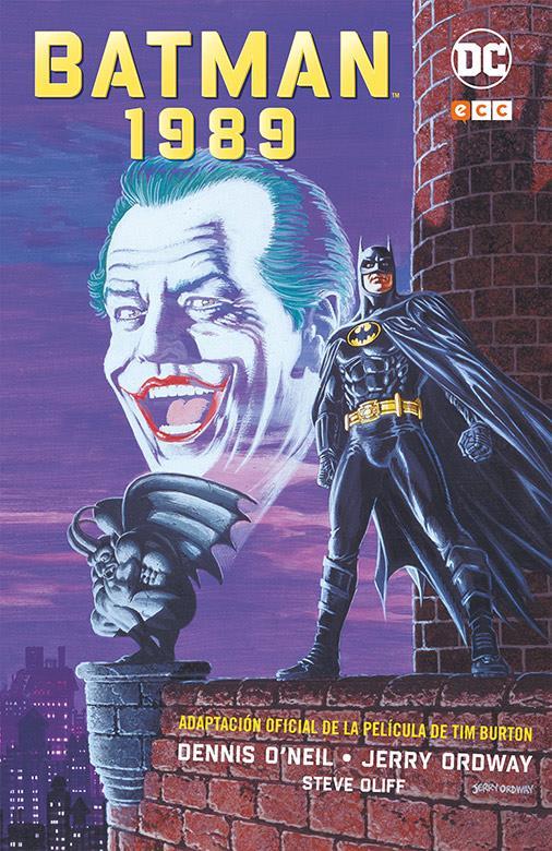 novedades ecc ediciones marzo 2020, batman 1989